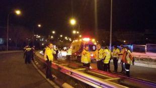 Fallece un motorista de 32 años en la calle Pedro Bosch