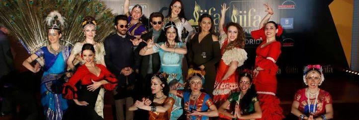 Presentación de los actos en Madrid con motivo de los premios de cine indio