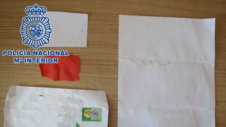 Detienen a un hombre por enviar sobres con supuesto ébola al PP, ABC, el TS o la Bolsa