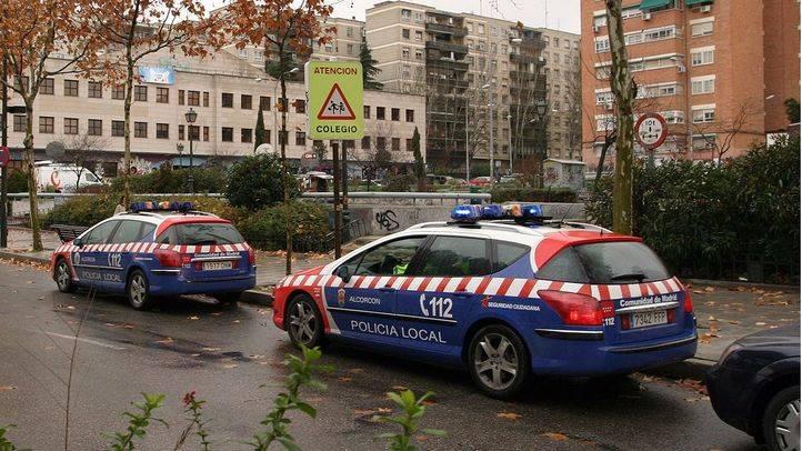Coches de la Policia Local de Alcorcón (archivo)
