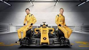 Renault Sport desvela los colores de su Formula One Team