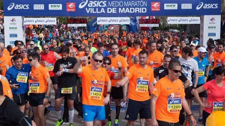 23.000 corredores participarán en la Medio Maratón de Madrid