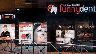 Una de las clínicas de Funnydent en la Comunidad de Madrid