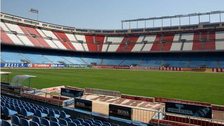 Estadio Vicente Calderon del club Atletico de Madrid