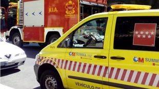 Ha sido necesaria la actuación de bomberos y efectivos sanitarios.