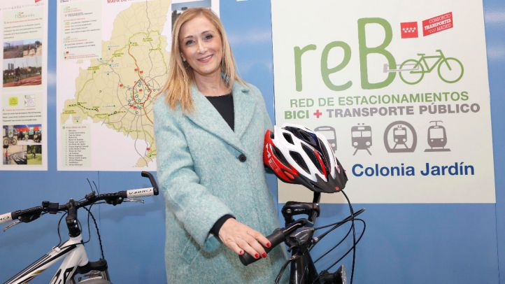 Cristina Cifuentes presenta el programa ReB