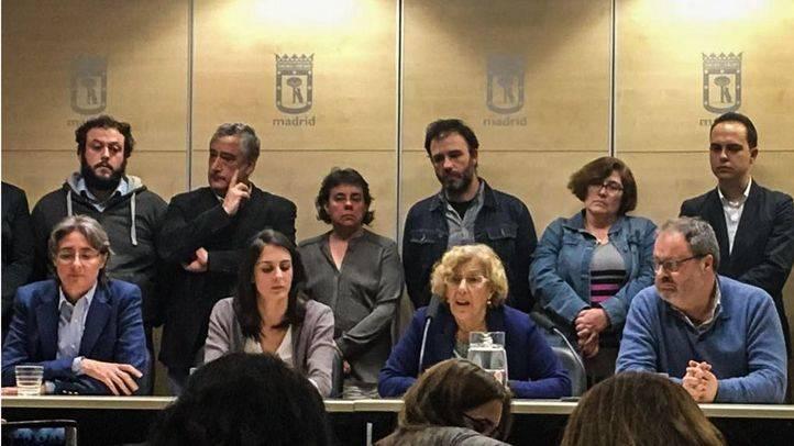 Rita Maestre, arropada por el Gobierno municipal