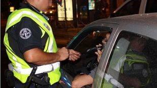 Policía Municipal en un control.