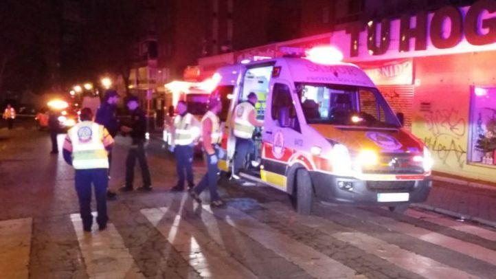 Dos heridos en una reyerta a las puertas de una discoteca latina en Aluche