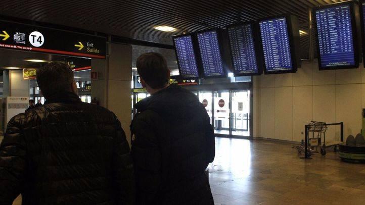 Cacelados 11 vuelos en Barajas por la huelga de controladores aéreos franceses