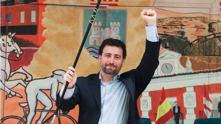 Investidura Pedro del Cura como alcalde de Rivas Vaciamadrid de Iu. (Archivo)
