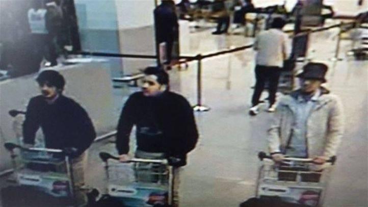 Posibles autores de los atentados en Bruselas