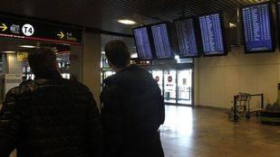Barajas cancela siete vuelos programados a Bruselas