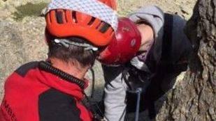 Rescate excursionista fallecido.