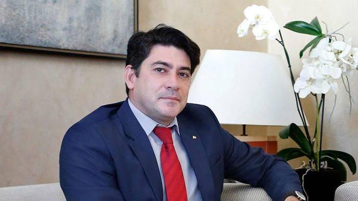 David Pérez, alcalde de Alcorcón.