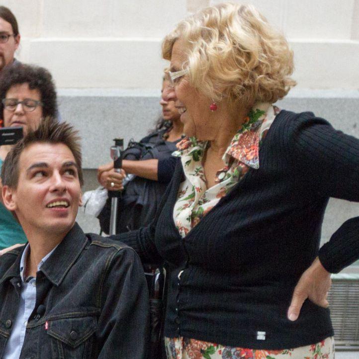 Pablo Soto y Manuela Carmena (archivo)