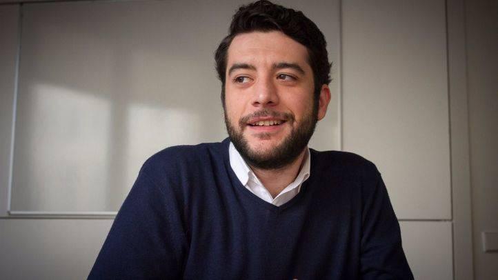 César Zafra portavoz de Ciudadanos en la comisión de investigación de la corrupción en la Asamblea de Madrid. (Archivo)