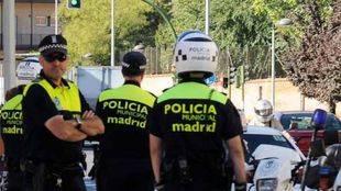 Policia municipal agentes