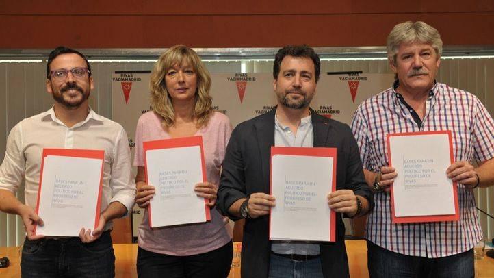 Firma del acuerdo por las políticas de izquierdas (archivo)