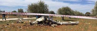 Tres muertos al estrellarse una avioneta en Perales de Tajuña
