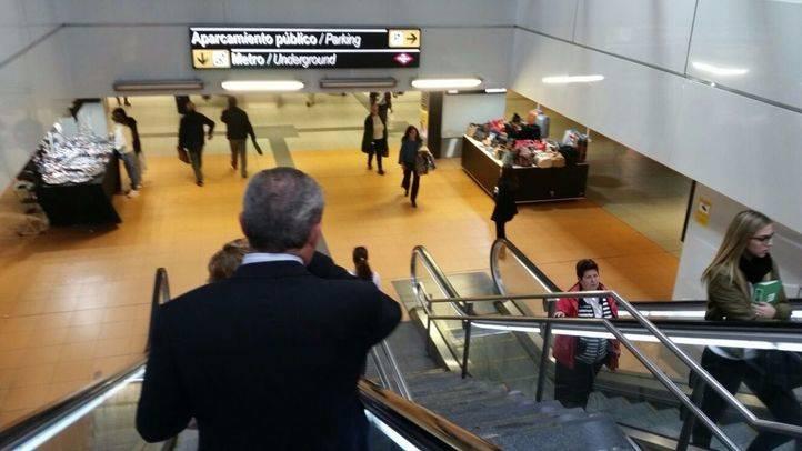 Normalidad en Metro de Madrid después del desalojo