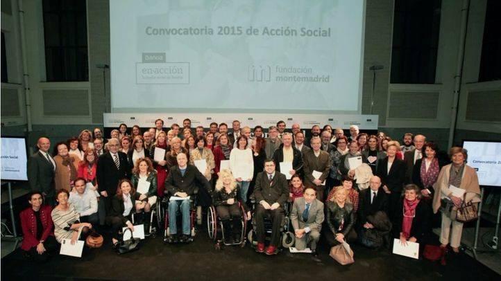 La Fundación Montemadrid y Bankia entregan un millón de euros en ayudas a ONG