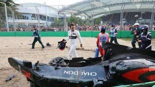 Alonso no correrá en Baréin y es duda para China