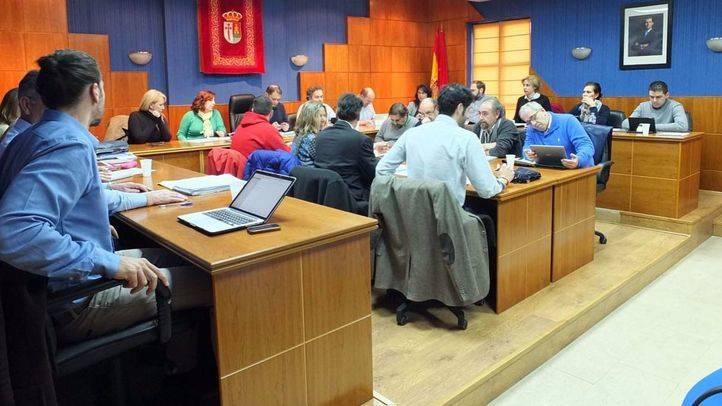 Pleno en el Ayuntamiento de Paracuellos.