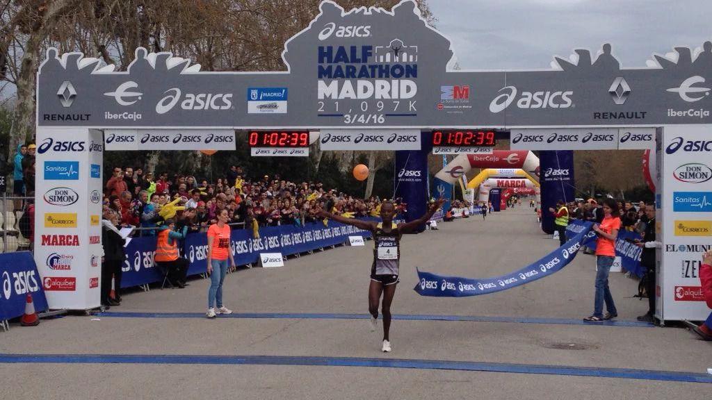 Doblete keniata en el Medio Maratón de Madrid