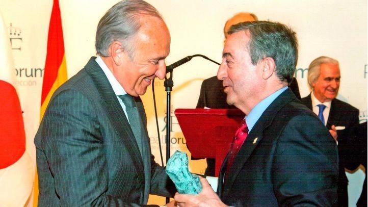 El empresario Ricardo Arranz recibe el Máster de Oro del Real Fórum de Alta Dirección