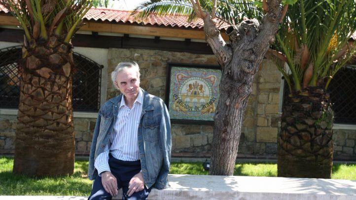 Jesús Neira durante una entrevista en el asador Aranda. (Archivo)