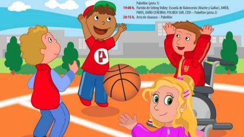 Séptima jornada de deporte inclusivo en Latina