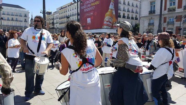 El ERE de Telemadrid moviliza a docenas de manifestantes tres años después