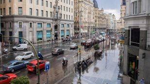 La lluvia vuelve a poner en alerta a la capital