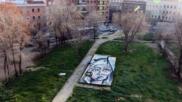 ¡Pinta Malasaña!: arte urbano para cambiar las calles del barrio