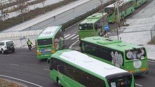 El Consorcio de Transportes refuerza el servicio de autobuses de Móstoles-Madrid