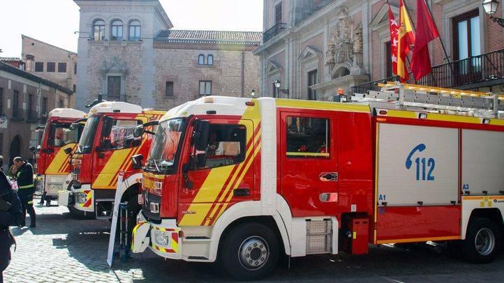 Desalojan un edificio en María de Molina por una inundación de humo