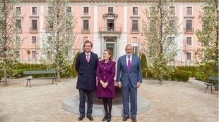 Antonio González Terol y Ana Pastor en el Palacio Infante Don Luis, en Boadilla del Monte.