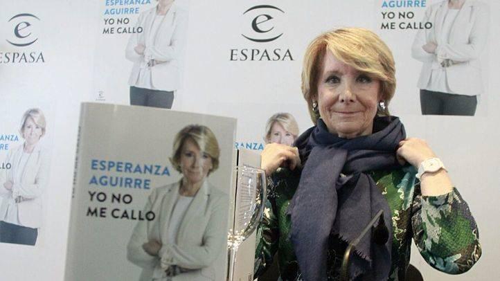 Esperanza Aguirre presenta su libro 'Yo no me callo' de la editorial Espasa en el CBA.