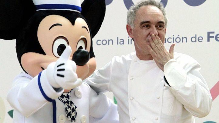 Ferrán Adrià y Disney presentan el proyecto 'Te cuento en la cocina'