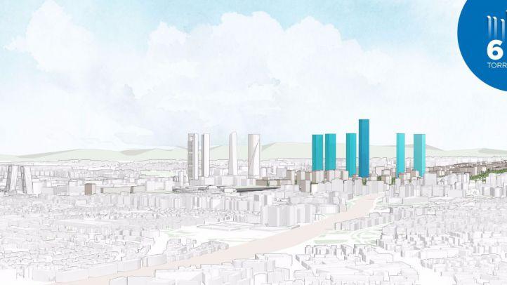 Distrito Castellana Norte plantea construir el rascacielos más alto de Europa