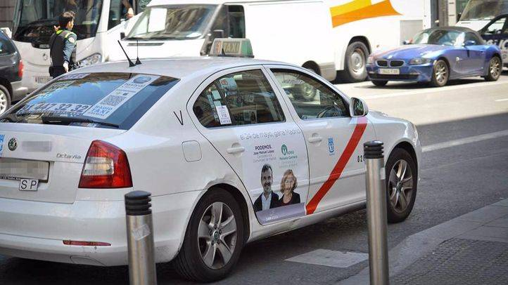 Los taxistas crearán un bono para personas en riesgo de exclusión social