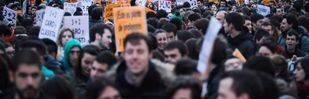 La huelga contra la LOMCE y el 3+2 vacía aulas de instituto y apenas se nota en la universidad