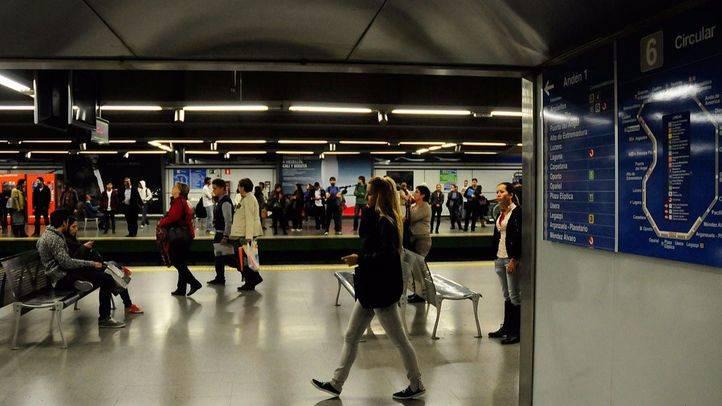 Metro Moncloa L6 y L3 andenes. (Archivo)