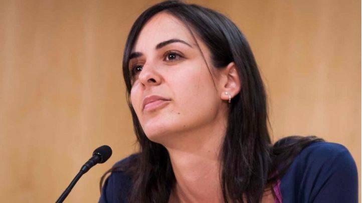 Rita Maestre en una rueda de prensa en el ayuntamiento de Madrid. (Archivo)
