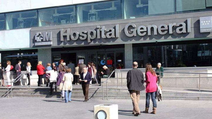 Urgencias del hospital La Paz