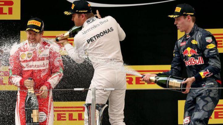 Rosberg en China