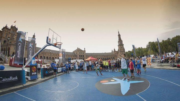 CaixaBank y la Federación Española de Baloncesto llevan el circuito Plaza 3x3 a las calles de quince ciudades españolas