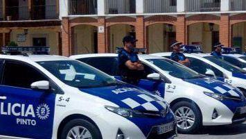 La policía local de Pinto recupera tres vehículos robados y mercancía valorada en 300.000 euros