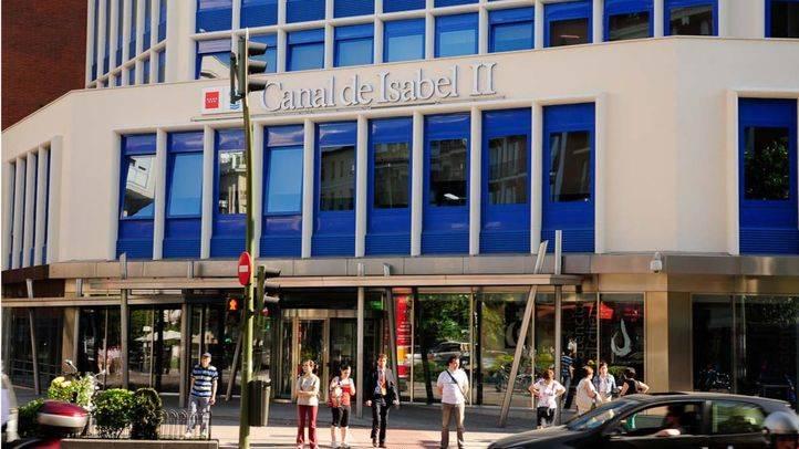 Edificio de la sede del Canal de Isabel II